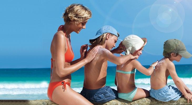 Каждый светлокожий ребенок нуждается в креме с защитным фактором